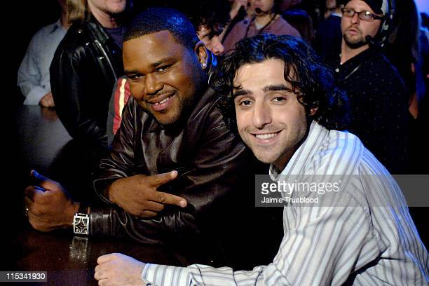 Anthony Anderson and David Krumholtz on the 'Jimmy Kimmel Live' show on ABC Photo by Jaimie Trueblood/WireImage/ABC