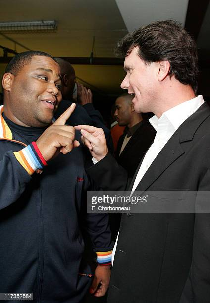 Anthony Anderson and Fox Searchlight's Peter Rice during FoxSearchlight Pictures Present the Los Angeles Premiere of Roll Bounce After Party at The...