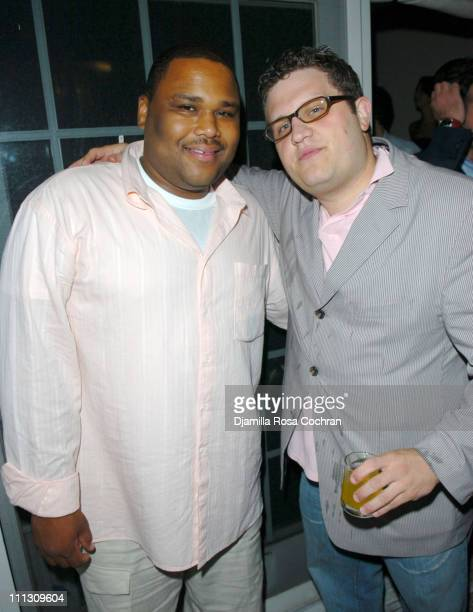 "Anthony Anderson and Gregg ""nuf"" Beinin during Pirelli Watches and Hamptons Magazine Host the Golf Classic Party at Cain in Southampton, NY, United..."