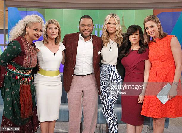 THE VIEW Anthony Anderson and Guillermo Diaz are the guests today Wednesday May 13 2015 on Walt Disney Television via Getty Images's The View The...
