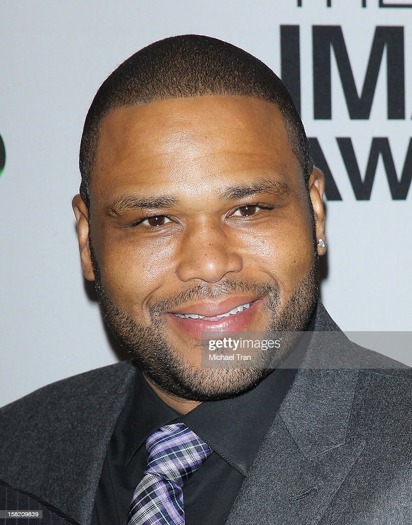 Anthony Anderson arrives at the 44th NAACP Image Awards nominations announcement held at The Paley Center for Media on December 11, 2012 in Beverly Hills, California.