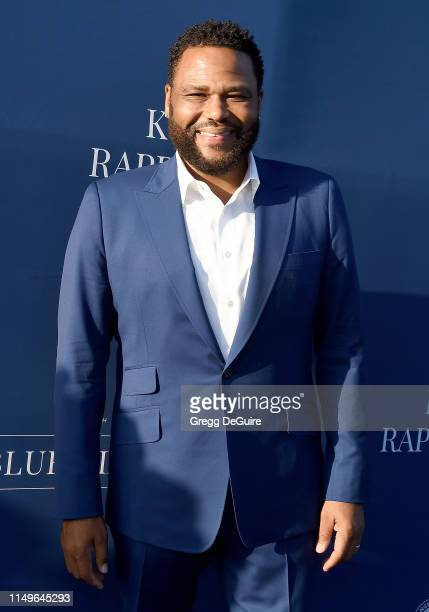 Anthony Anderson arrives at the 5th Annual Blue Diamond Foundation at Dodger Stadium on June 12 2019 in Los Angeles California