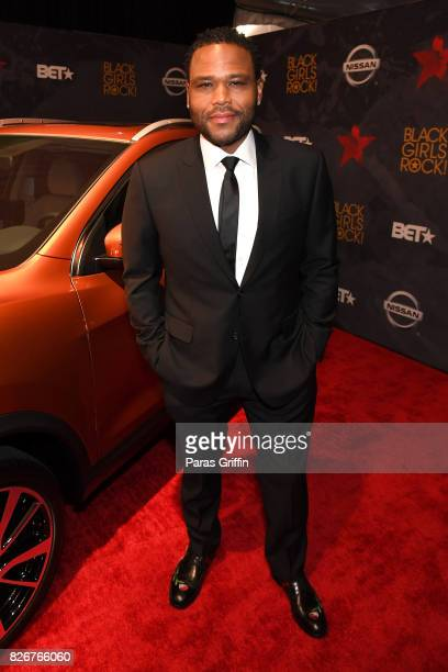 Anthony Anderson attends Black Girls Rock 2017 at NJPAC on August 5 2017 in Newark New Jersey