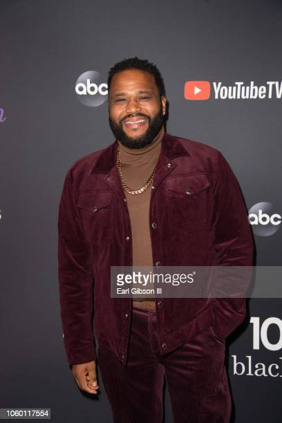 Anthony Anderson attends Blackish 100th Episode Celebration at Walt Disney Studios on November 10 2018 in Burbank California