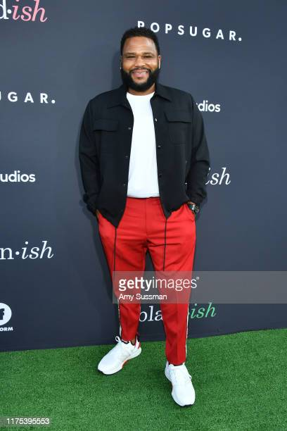 Anthony Anderson attends POPSUGAR X ABC Embrace Your Ish Event at Goya Studios on September 17 2019 in Los Angeles California