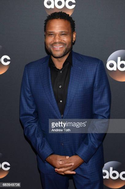 Anthony Anderson attends the 2017 ABC Upfront on May 16 2017 in New York City