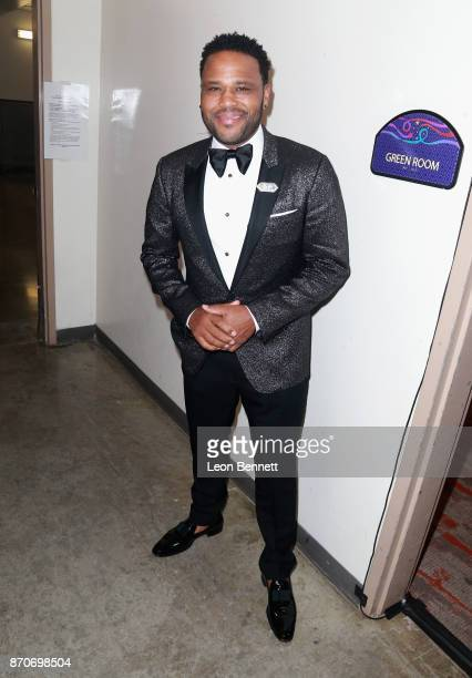 Anthony Anderson attends the 2017 Soul Train Awards presented by BET at the Orleans Arena on November 5 2017 in Las Vegas Nevada