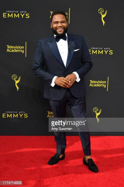 Anthony Anderson attends the 2019 Creative Arts Emmy Awards on September 14 2019 in Los Angeles California
