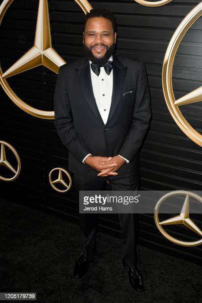 Anthony Anderson attends the 2020 MercedesBenz Annual Academy Viewing Party at Four Seasons Los Angeles at Beverly Hills on February 09 2020 in Los...