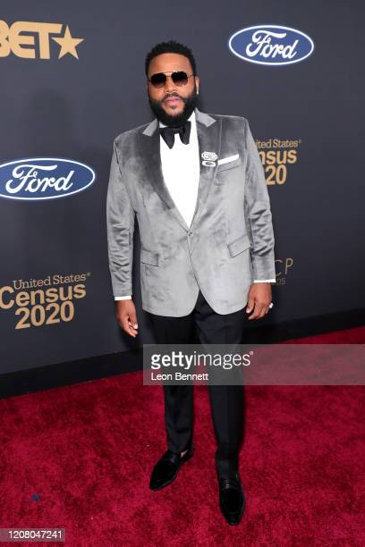 Anthony Anderson attends the 51st NAACP Image Awards Presented by BET at Pasadena Civic Auditorium on February 22 2020 in Pasadena California