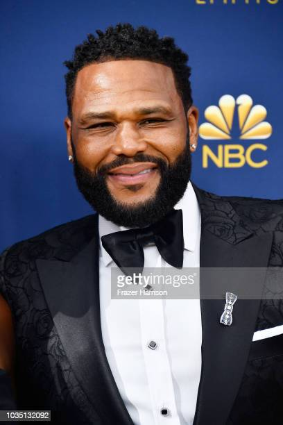 Anthony Anderson attends the 70th Emmy Awards at Microsoft Theater on September 17 2018 in Los Angeles California