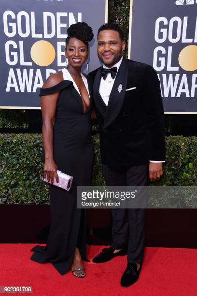 Anthony Anderson attends The 75th Annual Golden Globe Awards at The Beverly Hilton Hotel on January 7 2018 in Beverly Hills California
