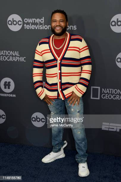 Anthony Anderson attends the ABC Walt Disney Television Upfront on May 14 2019 in New York City