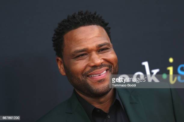 Anthony Anderson attends the ABC's Blackish FYC Event at Television Academy on April 12 2017 in Los Angeles California