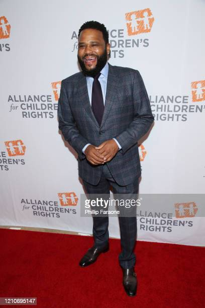 Anthony Anderson attends The Alliance For Children's Rights 28th Annual Dinner at The Beverly Hilton Hotel on March 05 2020 in Beverly Hills...