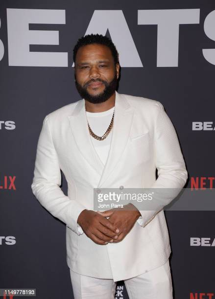 Anthony Anderson attends the BEATS World Premiere at The American Black Film Festival on June 13 2019 in Miami Florida