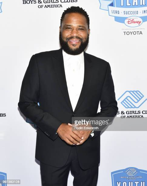 Anthony Anderson attends the Boys and Girls Clubs of America Youth of the Year Gala at The Beverly Hilton Hotel on July 12 2018 in Beverly Hills...