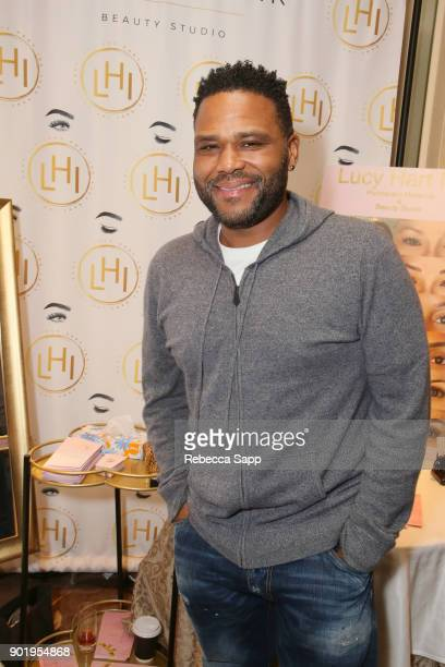 Anthony Anderson attends the HBO LUXURY LOUNGE presented by ANCESTRY on January 6 2018 in Beverly Hills California