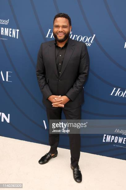 Anthony Anderson attends The Hollywood Reporter's Empowerment In Entertainment Event 2019 at Milk Studios on April 30, 2019 in Los Angeles,...