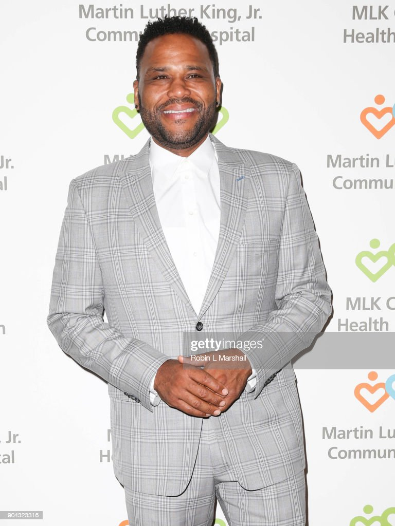 Anthony Anderson attends the MLK Community Health Foundation's 'Sharing The Dream' Luncheon at Dorothy Chandler Pavilion on January 12, 2018 in Los Angeles, California.