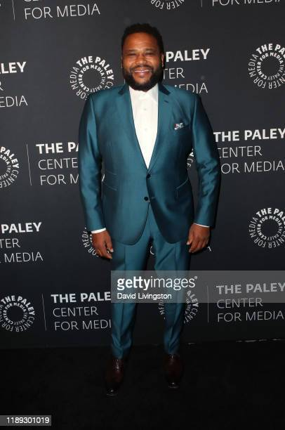 Anthony Anderson attends The Paley Honors A Special Tribute To Television's Comedy Legends at the Beverly Wilshire Four Seasons Hotel on November 21...
