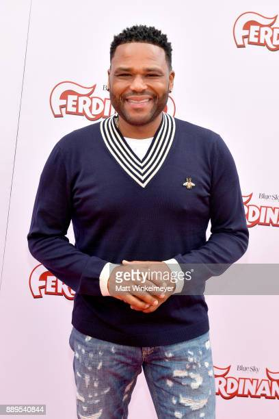 Anthony Anderson attends the screening of 20th Century Fox's 'Ferdinand' at Zanuck Theater at 20th Century Fox Lot on December 10 2017 in Los Angeles...