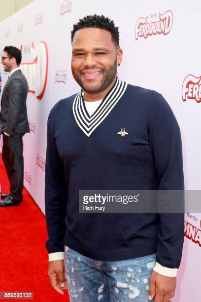 Anthony Anderson attends the screening of 20th Century Fox's Ferdinand at Zanuck Theater at 20th Century Fox Lot on December 10 2017 in Los Angeles...