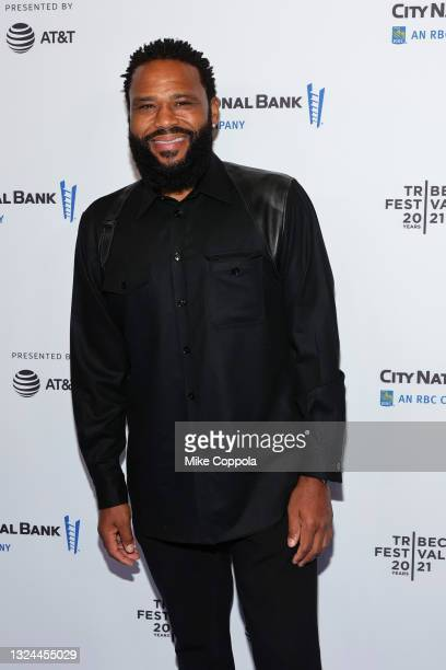 """Anthony Anderson attends the """"Untitled: Dave Chappelle Documentary"""" Premiere during the 2021 Tribeca Festival at Radio City Music Hall on June 19,..."""