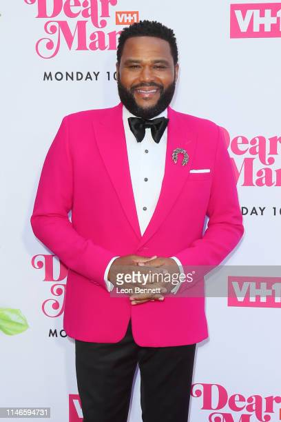Anthony Anderson attends VH1's Annual Dear Mama A Love Letter To Mom at The Theatre at Ace Hotel on May 02 2019 in Los Angeles California