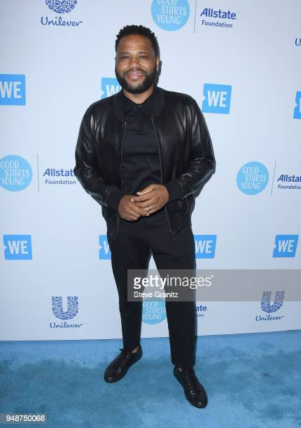 Anthony Anderson attends WE Day California at The Forum on April 19 2018 in Inglewood California