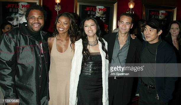 Anthony Anderson Gabrielle Union Kelly Hu Mark Dacascos and Jet Li