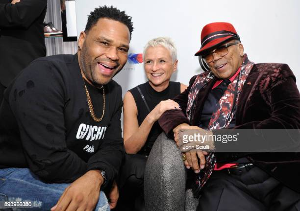 Anthony Anderson General Manager at Neiman Marcus Gretchen Pace and Quincy Jones attend Buscemi x Quincy Exclusive Launch at Neiman Marcus Beverly...