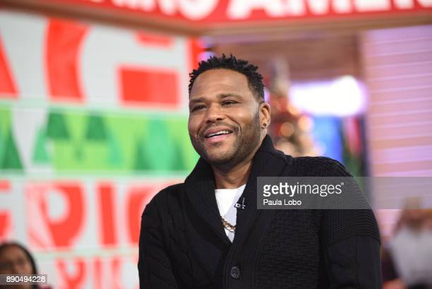AMERICA Anthony Anderson is a guest on 'Good Morning America' Monday December 11 airing on the ABC Television Network