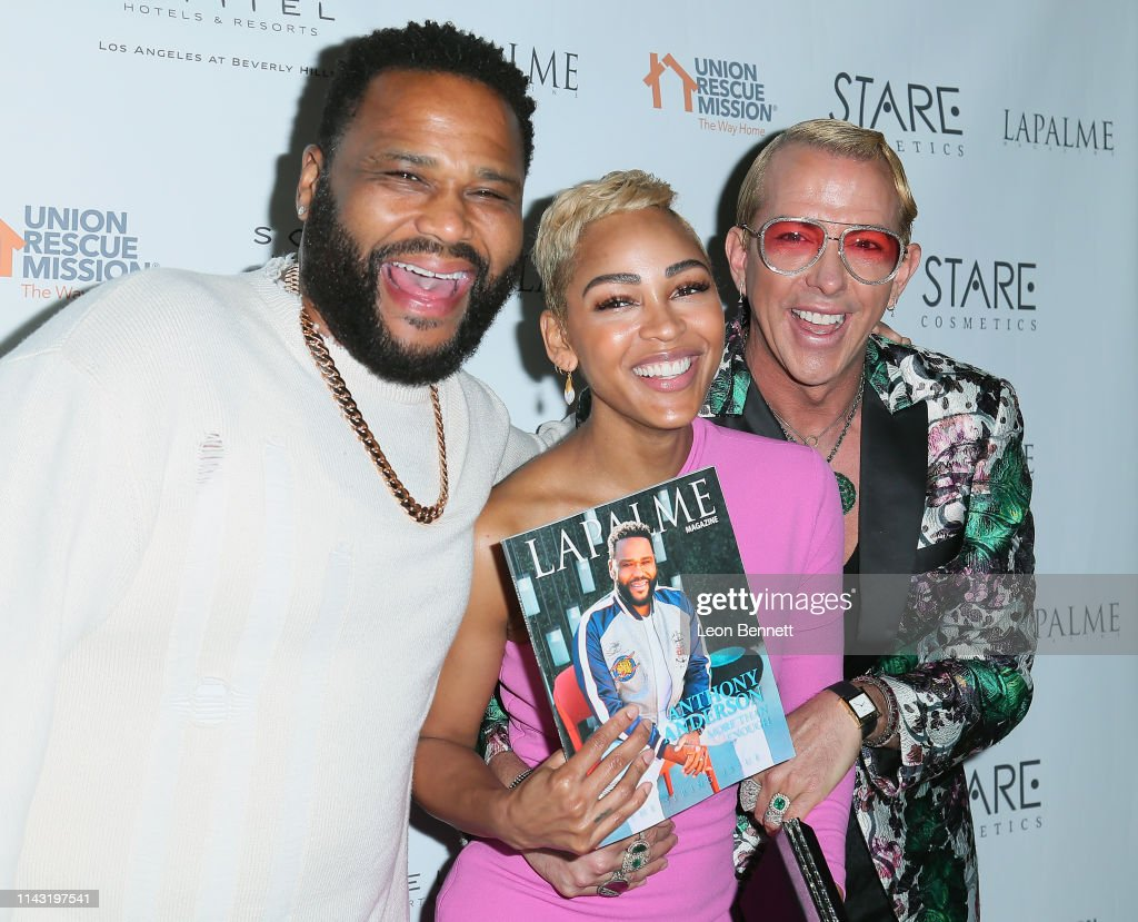 CA: Lapalme Magazine's Party For Cover Stars Anthony Anderson And Meagan Good