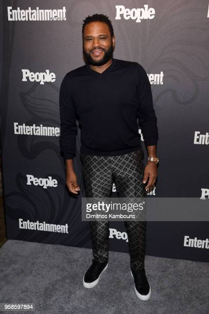 Anthony Anderson of Blackish attends Entertainment Weekly PEOPLE New York Upfronts celebration at The Bowery Hotel on May 14 2018 in New York City