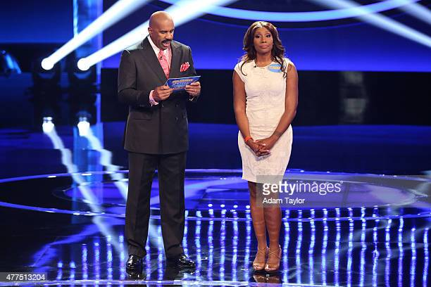 """Anthony Anderson vs Toni Braxton and Monica Potter vs Curtis Stone"""" - The series premiere of """"Celebrity Family Feud"""" will feature actor Anthony..."""