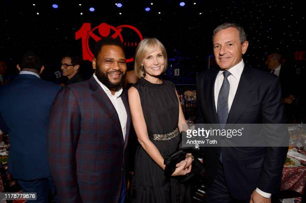 Anthony Anderson Willow Bay and Centennial Award Honoree Robert A Iger attend Save The Children's Centennial Celebration Once in a Lifetime at The...