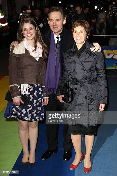 Anthony Andrews and family attends the press night of 'The Wizard Of Oz' at London Palladium on March 1 2011 in London England