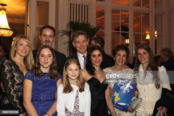 Anthony Andrews and guests attend the press night after party for 'An American In Paris' at the The Waldorf London on March 21 2017 in London England