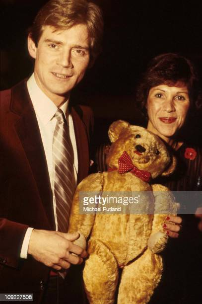 Anthony Andrews and wife Georgina Simpson London 1981