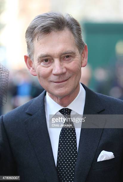 Anthony Andrews attends a memorial service for Sir David Frost at Westminster Abbey on March 13 2014 in London England