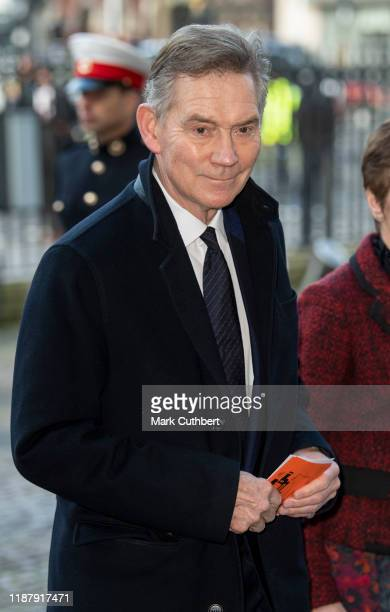 Anthony Andrews attends a Service of Thanksgiving for the life and work of Sir Donald Gosling at Westminster Abbey on December 11 2019 in London...