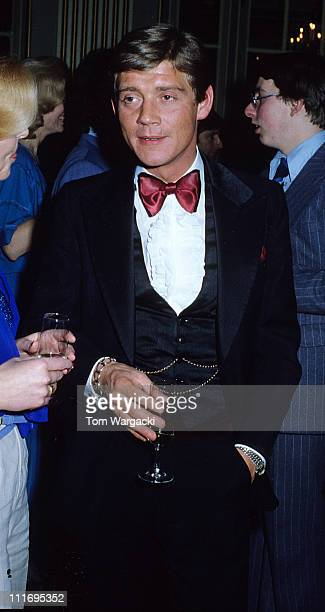 Anthony Andrews during Anthony Andrews Sighting at The Waldorf Hotel 1979 at Waldorf Hotel in London Great Britain