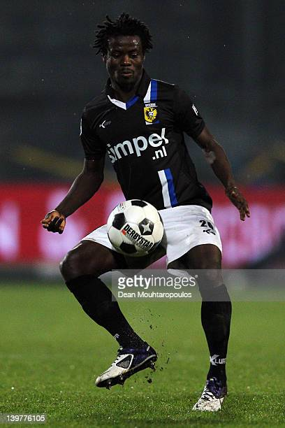 Anthony Annan of Vitesse in action during the Eredivisie match between RKC Waalwijk and Vitesse Arnhem at the Mandemakers Stadium on February 24 2012...