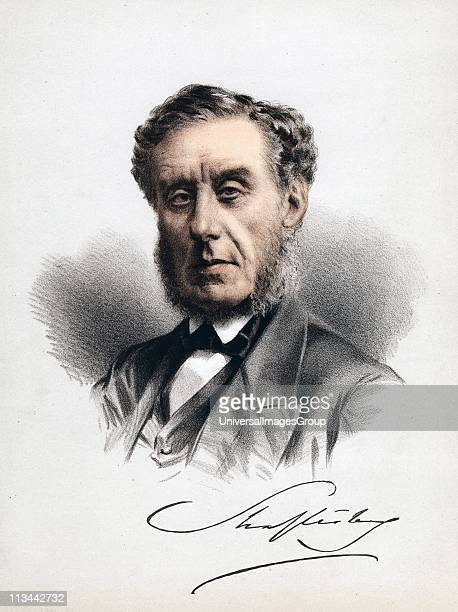 Anthony Ashley Cooper 7th Earl of Shaftesbury c1880 English statesman moral philosopher and philanthropist and factory reformer He piloted a number...