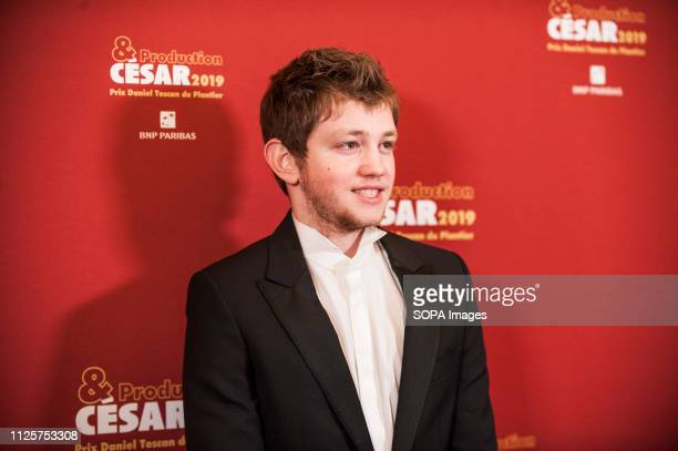 Anthony Bajon attends the Producer's Dinner Cesar 2019 held at Four Seasons Hotel George V