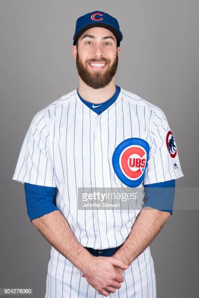 Anthony Bass of the Chicago Cubs poses during Photo Day on Tuesday February 20 2018 at Sloan Park in Mesa Arizona