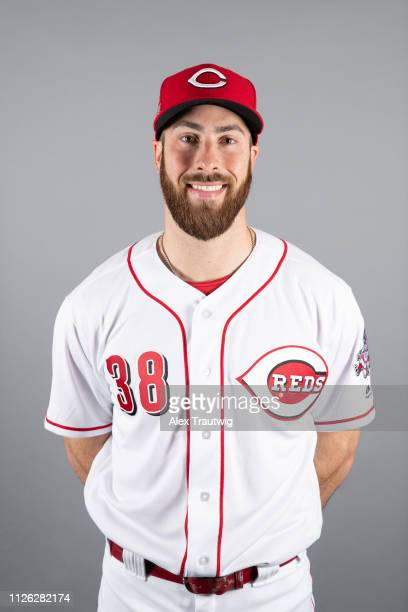Anthony Bass of the Cincinnati Reds poses during Photo Day on Tuesday February 19 2019 at Goodyear Ballpark in Goodyear Arizona