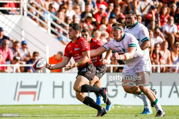 Anthony Belleau of Toulon during the Top 14 match between RC Toulon and Pau at Felix Mayol Stadium on August 27 2017 in Toulon France