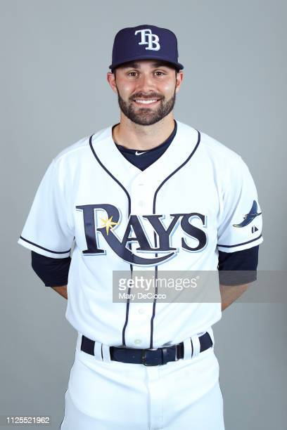 Anthony Bemboom of the Tampa Bay Rays poses during Photo Day on Sunday February 17 2019 at Charlotte Sports Park in Port Charlotte Florida